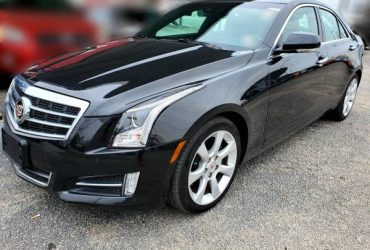 2013 CADILLAC ATS 2.0L TURBO/MANUAL TRANSMISSION/LOW MILES/WE FINANCE! – $15997