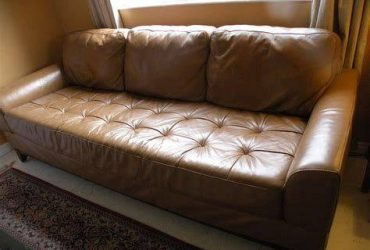 Leather Couch (Dallas)