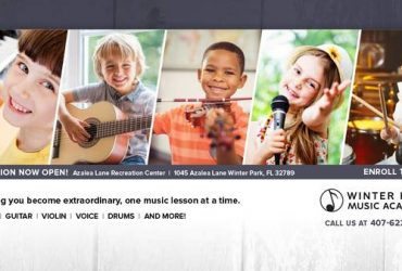 Music Instructors Wanted (1 year min exp) (Winter Park, FL)