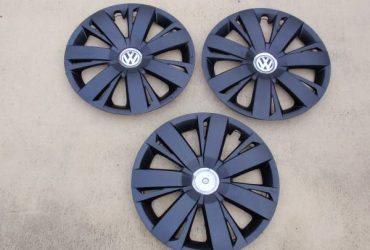 """3 16"""" VW Wheelcover Hubcaps – $10 (Hallandale Beach)"""