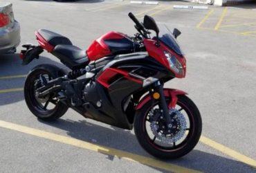 Kawasaki ninja 650R – $4500 (Hallandale beach)