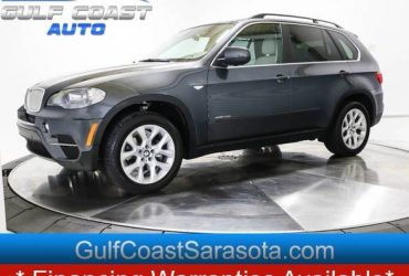 013 BMW X5 XDRIVE 35I PREMIUM LEATHER NAVI SUNROOF LOW MILES – $17288 ($ EASY FINANCING $ / CALL NOW 150+ CARS!)(Clearwater, Tampa)