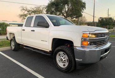 2015 Chevrolet Silverado 2500HD CrewCab 4×4 – $13000 (KISSIMMEE)(Orlando)
