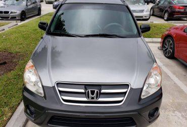 2006 Honda CRV – $2999 (Weston)
