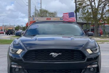 2017 Ford Mustang ECO Premium – $17500 (Hollywood)