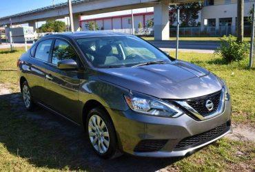 2019 Nissan Sentra S 4dr Sedan CVT Sedan – $8950 (DG Auto Group)(miami springs)