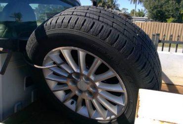 tire and wheele – $700 (miami gardens)