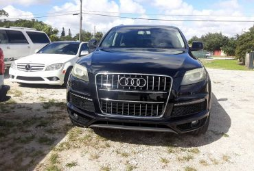 ***2011 AUDI Q7 S LINE***CLEAN TITLE***APPROVAL GUARANTEED FOR ALL!! – $8990 (DAVIE)