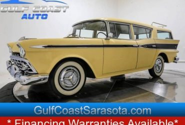 1959 AMC RAMBLER CUSTOM WAGON NEW INTERIOR CLASSIC COLLECTIBLE – $19888 ($ EASY FINANCING $ / CALL NOW 150+ CARS!)(sweetwater)