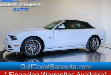 2014 Ford MUSTANG GT PREMIUM LEATHER V8 ONLY 22K LIKE NEW CONVERTIBLE – $23588 ($ EASY FINANCING $ / CALL NOW 150+ CARS!)(sweetwater)
