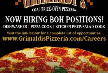 Grimaldi's Pizzeria Pizza Cook