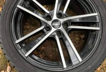 Winter Tires and wheels – $500