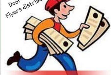 Door-to-Door Flyer Distribution (20 Hours per Week) (Katy)