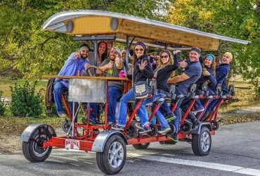 Pedal Saloon Driver / Tour Guide Wanted! (Fort Worth)
