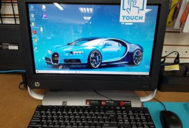 "TOUCHSCREEN 20"" HP All-in-one 4GB 1TB Hard Drive in EXCELLENT COND. – $219 (Hialeah)"