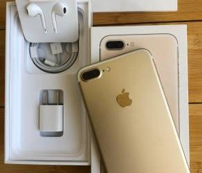 NEW Condition Apple iPhone 7 Plus (Factory Unlocked) Bundle – $300 (Miami Shores)