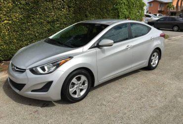 Hyundai elantra 2015 – $6500 (Doral)