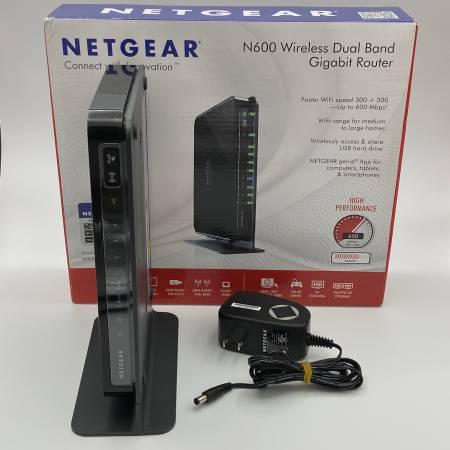Netgear N600 Wireless Router – $50 (Palm Beach Gardens)