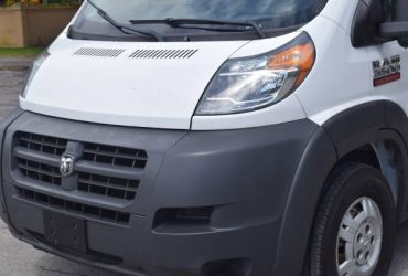 2014 DODGE PROMASTER 3500 DIESEL 3.0 TURBO HIGH ROOF CARGO – $13455 (Hollywood)