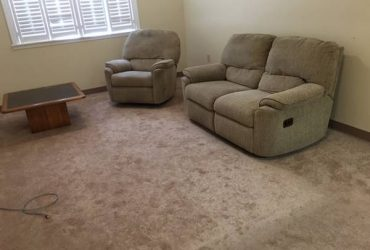 FREE Sofa, Reclining Chair, Coffee Table and Queen Mattress (Kendall / Miami)