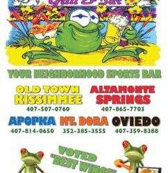 Froggers is looking for experienced Bartenders (Kissimmee)