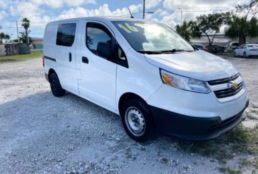 2016 CHEVY WORK VAN CLEAN TITLE CALL MILY – $11900 (Fort Lauderdale)