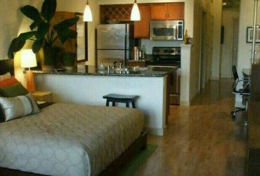 $1000 / 500ft2 – Fully Furnished Studio. $1000 month. Utilities included. (Orlando)