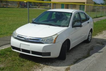 2008 FORD FOCUS with 76,000 Miles – $3500 (miami, fla)