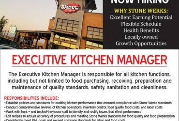 Executive Kitchen Manager (San Anotnio, TX)