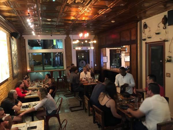 Wait staff, cook, bartending, bar back & general help positions! (727 South Alamo)