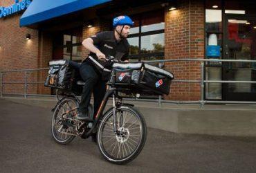 Manhattan Dominos Pizza Delivery Bikers (Manhattan)
