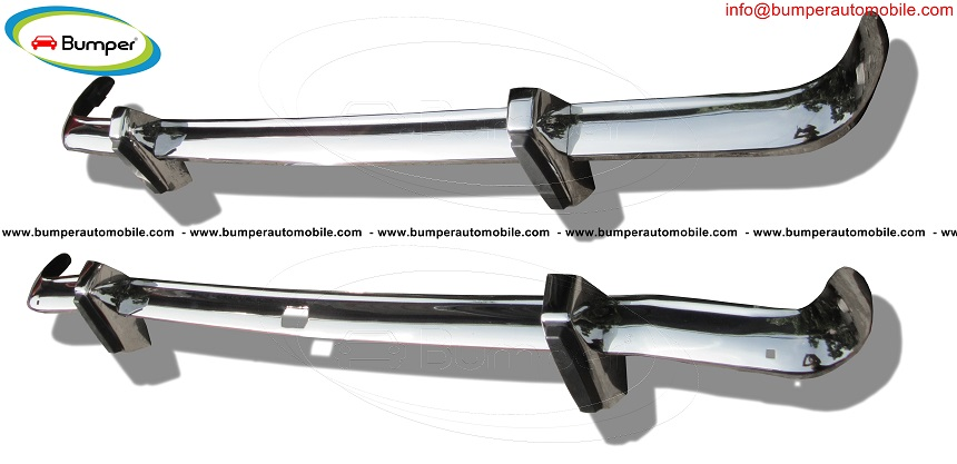 Ford Cortina MK2 bumper (1966-1970) by stainless steel