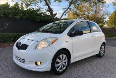 Toyota Yaris 2008 $3400$ – (Doral)