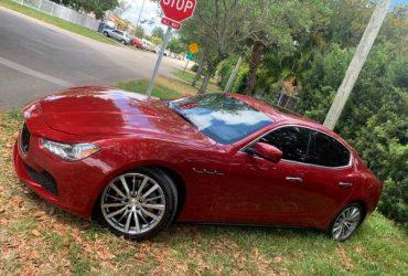 2015 Maserati Ghibli – $21500 (Dade)