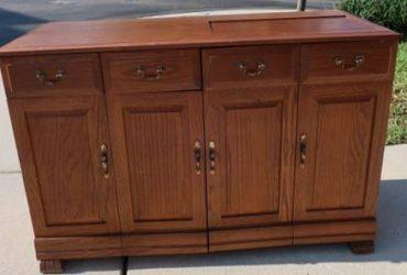 Near Oviedo–FREE sewing machine cabinet (Stratford Green by Kohls/Walmart)