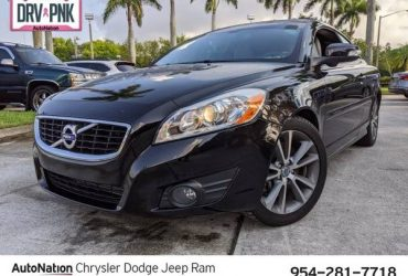 2011 Volvo C70 T5 SKU:BJ116549 Convertible – $8492 (Call *954-281-7718* for Instant Availability)