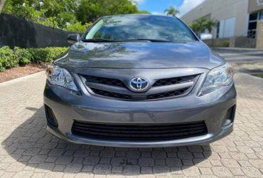 Toyota Corolla 2011 – $5400
