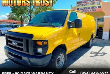 2012 Ford Econoline Cargo Van E-250 Recreational BAD CREDIT NO PROBLEM! – $5999 (Motor Trust)