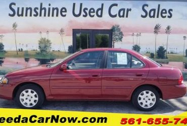 2002 Nissan Sentra Only $1199 Down** $60/Wk – $5499
