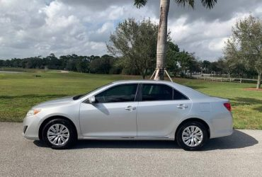 TOYOTA CAMRY, 4DR SEDAN, LE, EXCELLENT, BLOW OUT PRICE TODAY! – $6900 (Boca Raton)