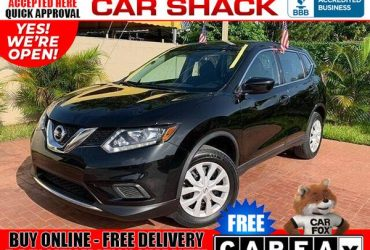2016 Nissan Rogue S Sport Utility 4D (as low as $499 Down oac* Bad Credit OK)