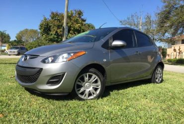2012 MAZDA 2 AUTOMATIC _ LOW MILES __ SEE PIC – $4995 (Coconut Creek)