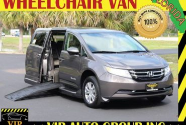 Wheelchair van handicap ramp van 2014 Honda Odyssey ramp van – $34900 (Clearwater)