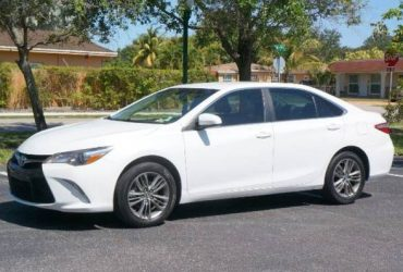 2017 TOYOTA CAMRY SE aa – $999 (DOWN PAYMENT)