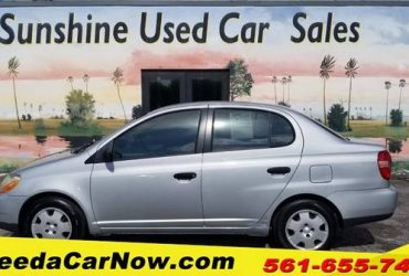2002 Toyota Echo Only $1299 Down** $67/Wk – $5499
