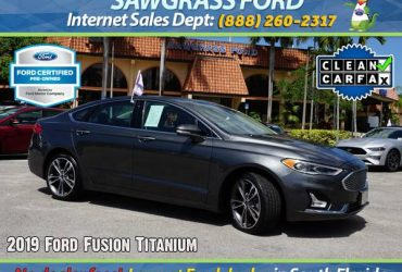 2019 Ford Fusion Titanium – Stock # 99699L Financing available – $20500 (📞954-851-9084 📞)