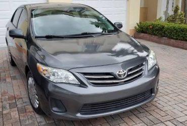 Toyota Corolla LE – $6999 (Miami)
