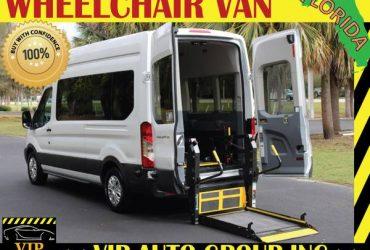 Wheelchair van handicap ramp van 2015 Ford T350 ramp van – $27900 (Clearwater)