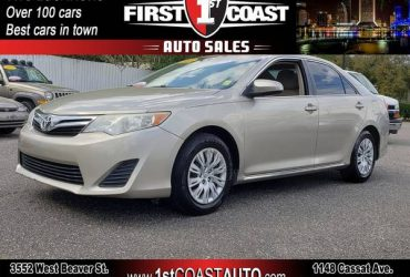 WE APPROVE EVERYONE! CREDIT SCORE DOES NOT MATTER!14 Toyota Camry – $2000 (Jacksonville)