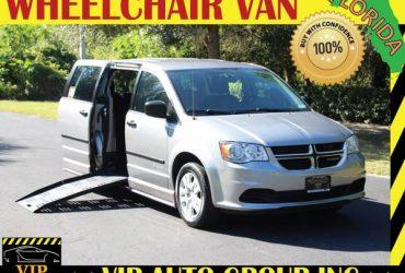 Wheelchair van handicap ramp van 2015 Dodge Grand Caravan ramp van – $25900 (Clearwater)